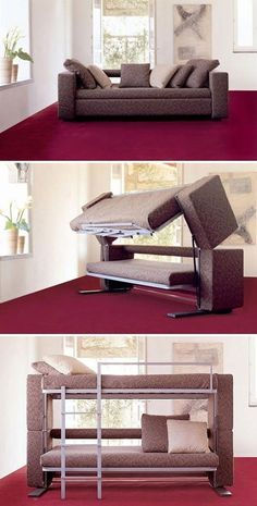 Now THAT'S a sofa bed! This is awesome!!!