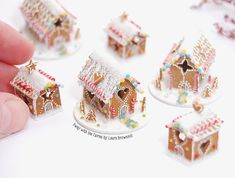 Miniature Gingerbread House By Laura Bronwhill