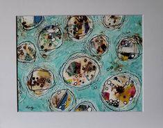 Star Art, Acrylic Canvas, Mixed Media Painting, Colorful Decor, Watercolor Paper, Latte, Art Ideas, Original Art, My Etsy Shop
