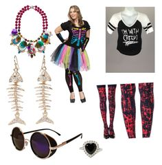 """Funky"" by schonie14 ❤ liked on Polyvore featuring Bijoux de Famille and Torrid"