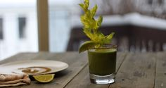le-green-shake-epice-kc-main Shake, Table Decorations, Tableware, Kitchen, Drink, Recipe, Kitchens, Suit, Green
