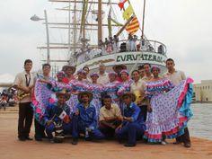 #Unicartagena dio la bienvenida en el Sail 2014