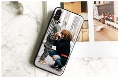 Custom made Phone Case For iPhone – Gifts For Her, Gifts For Him, Gifts For Couple, Birthday Gifts, Custom Made Phone Cases, Personalized Phone Cases, Diy Phone Case, Iphone Phone, Iphone Cases, Make Your Own Case, Phone Apple, Photo Pattern, Vintage Quotes