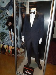 Tuxedo worn by Tom Cruise as Ethan Hunt in Mission: Impossible - Ghost Protocol Michael Kaplan, Ethan Hunt, Ghost Protocol, To Catch A Thief, Create Your Own Story, Hollywood Costume, Film Genres, Prop Design, Mission Impossible