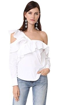 New STYLEKEEPERS Look of Love Off Shoulder Top online. Perfect on the Norma Kamali Clothing from top store. Sku imvh61422ttmt16421