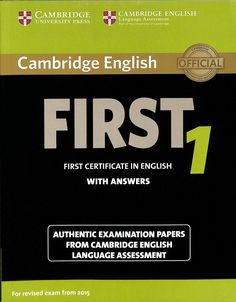 First : First certificate in English1 : with answers