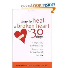 "My best-selling non-fiction book on recovery from failed romances. ""How to Heal a Broken Heart in 30 Days"" http://amzn.to/11f7K3S"