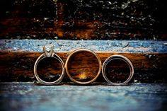 <3 Our Wedding   #wedding #rings