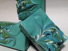 Spearmint Eucalyptus soap - mantra marbles