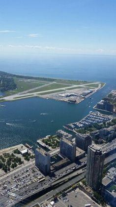 The view from CN Tower, Toronto, Canada British Columbia, British North America, Justin Trudeau, Ottawa, Quebec, Alaska, Toronto Vacation, Toronto Ontario Canada, Newfoundland