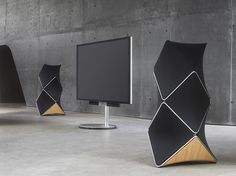 beolab 90 loudspeakers by bang and olufsen define sound with 360-degree acoustics