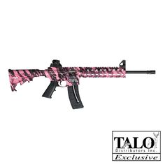 Ok, I've always said I would never own a pink gun, but I might have to change my mind for this one!