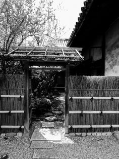 https://flic.kr/p/CUz5YA | Entrance to Gangō-ji Chashitsu |