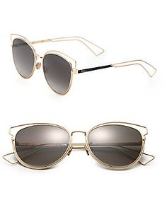 Dior Sideral Cat's-Eye 56MM Sunglasses