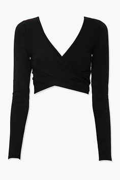 Diy Crop Top, Crop Top Shirts, Crop Shirt, Black Long Sleeve Shirt, Long Sleeve Tops, Divergent Outfits, Trendy Outfits For Teens, Casual Outfits, Crop Top Outfits
