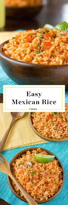 If you love a rich and flavorful rice side dish to round out Taco Tuesday this tomatoey Mexican rice is it! Homemade Mexican Rice, Mexican Rice Recipes, Mexican Dishes, White Rice Recipes, Rice Recipes For Dinner, Dinner Dishes, Rice Side Dishes, Onion Chicken, Jerk Chicken