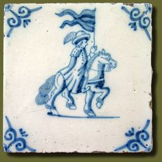 17th or 18th century delft tile:)