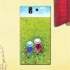 Jimmyboy Hand Plastic Jimmy Comic Series Hard Case For Sony Xperia Z