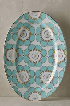 Discover sale kitchen & dining accessories at Anthropologie, including sale dinnerware collections, glassware, serveware, table linens and more. Easter Ham, Easter Bunny, Bohemian Kitchen, Fluid Design, Linens And More, Kitchen Collection, Decorative Tile, Serving Platters, Serveware