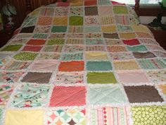 Becca's single bed quilt