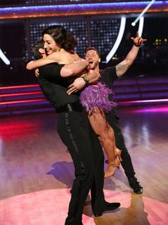 Meryl Davis and Maksim Chmerkovskiy react to winning #DWTS Season 18 Week 10 Finale (5/20/14)