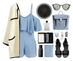 """Yoins5"" by jesicacecillia ❤ liked on Polyvore featuring Royce Leather, 3.1 Phillip Lim, Miss Selfridge, Fresh, Marc Jacobs, Ray-Ban, Hermès, Living Proof, yoins and yoinscollection"