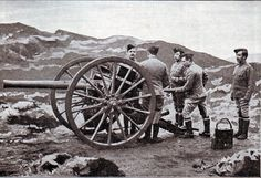Royal Field Artillery gunners in 1899 with a 15 pounder field gun Fine Art Prints, Canvas Prints, Framed Prints, Military History, Heritage Image, Photographic Prints, Poster Size Prints, Photo Mugs, Guns