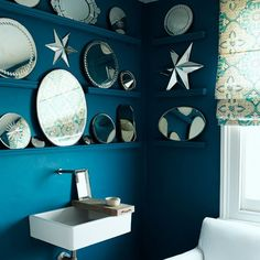 Add light with mirrors | Decorating on a budget - 10 top tips | Decorating ideas | Budget design | PHOTO GALLERY | Housetohome.co.uk
