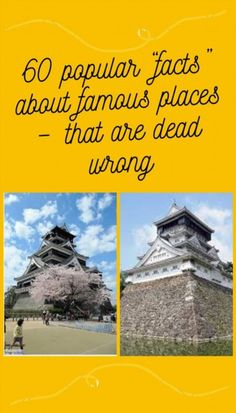 "60 popular ""facts"" about famous places - that are dead wrong False Facts, We Got It, Famous Places, Phone Backgrounds, Amazing Nature, Fun Facts, The Past, Popular, Funny Pins"