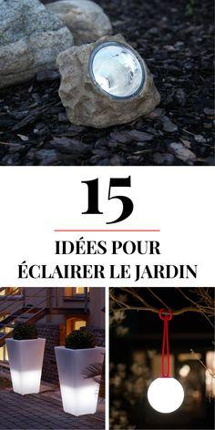 ➡️ Cliquez et découvrez 15 #idées et #astuces pour préparer l'#éclairage du #jardin. Parcourez également la sélection shopping, avec tous les conseils pour vous lancer.
