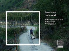 """""""L'uomo è la misura di tutte le cose"""" (Protagora, nel Teeteto di Platone)  E il Distretto Culturale della Valtellina è una valle a misura d'uomo.  #distretticulturali #discover #valtellina"""