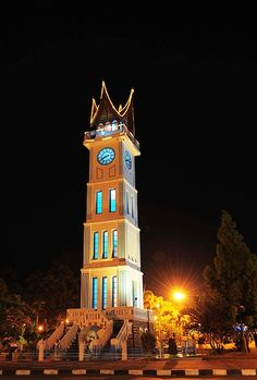 Gadang Clock  Bukit Tinggi, west Sumatra, Indonesia