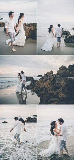 Malibu Beach Elopement at El Matador
