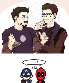 """#wattpad #fanfiction Peter Parker only wanted to be in simple missions with the avengers, instead he was in a team with the quirky and overly talkative mercenary Deadpool. He expected to get bothered but what he never expected was to be in such...How to put it?  """"How about Peter Parker is all over Deadpool? That's a gr..."""
