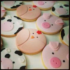 Cute cupcake topper idea for animal theme!