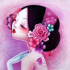 Pivoine by ~LadySybile