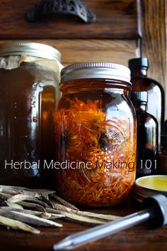 """""""Herb Day 05/04/2013"""" in their Newsletter at Mountain Rose Herbs, gives free instruction for DIY: Herbal Extracts, Infusions & Decoctions, Herbal Oils & Saves, Herbal Honey, DIY Liniments, Medicinal Vinegars."""