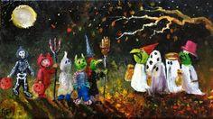 The creative works of Lizzy Rainey Halloween Facts, Halloween Clipart, Halloween Pictures, Halloween Season, Halloween Projects, Spirit Halloween, Spooky Halloween, Halloween Themes, Vintage Halloween