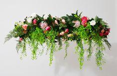 How To Make A Floral Chandelier - Step Inside My Handbag Diy Wedding, Wedding Flowers, Wedding Ideas, Flower Chandelier, Step Inside, Indoor Garden, Canopy, Floral Wreath, Wedding Decorations