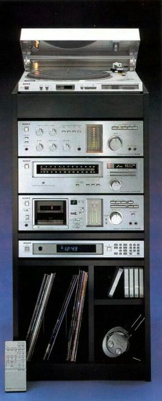 Sony HiFi Vintage Audio Stereo Audiophile