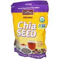 Nutiva, Organic Chia Seed, 12 oz (340 g) - iHerb.com
