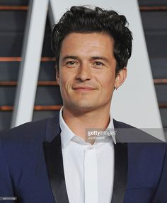 Actor Orlando Bloom arrives at the 2015 Vanity Fair Oscar Party Hosted By Graydon Carter at Wallis Annenberg Center for the Performing Arts on February 22, 2015 in Beverly Hills, California.