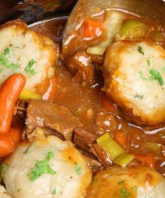 Beef Stew & Parsley Dumplings.. Do you want something unusual?