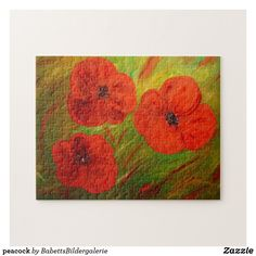 Mohn puzzle Puzzle, Painting, Map Invitation, Poppy, Invitations, Puzzles, Painting Art, Paintings, Painted Canvas