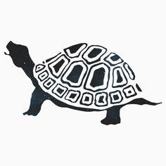 Cosmic turtle illustration