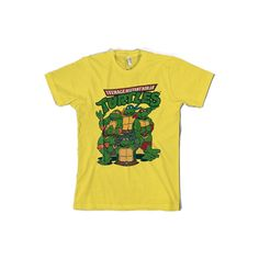 Teenage Mutant Ninja Turtles Group Womens T-Shirt via Polyvore