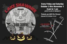 "Lake Shawnee Entertainment LLC. Presents ""Dark..."