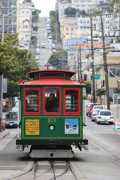 San Francisco, cable car   .