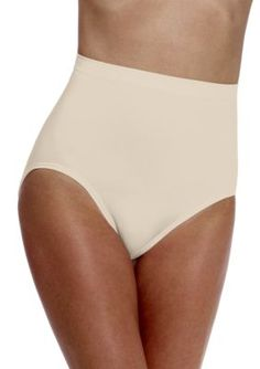a125a4fe7 Bali Taupe 2 Pack Ultra Control Seamless Brief X204 Large Women