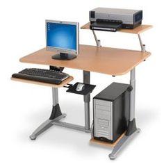 Adjustable Height Ergonomic Workstation, 82493